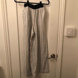 Striped beach pants